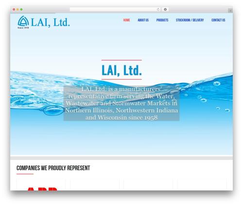 AllStar theme WordPress - lai-ltd.com
