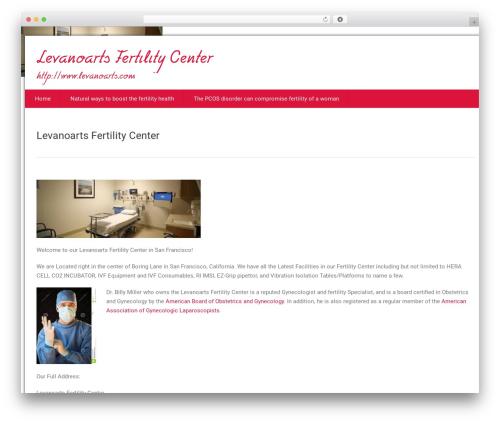 Health-Center-Lite best free WordPress theme - levanoarts.com