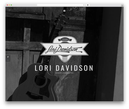 Ovation WordPress travel theme - loridavidson.net