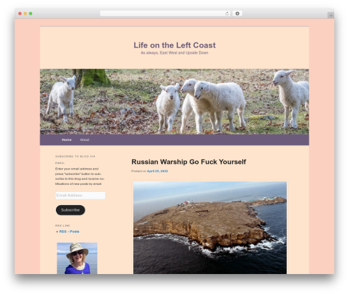 Free WordPress Twenty Eleven Theme Extensions plugin - lifeontheleftcoast.com