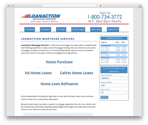 Theme WordPress childtwentytwelve - loanaction.com