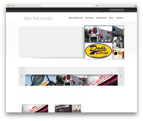 Theme WordPress Delicate News - littlefivepoints.net