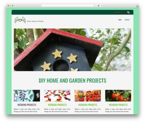 D5 CORPORATE LITE WordPress theme design - lostangelstudio.com