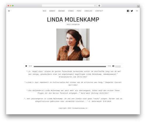 Encore top WordPress theme - lindamolenkamp.nl