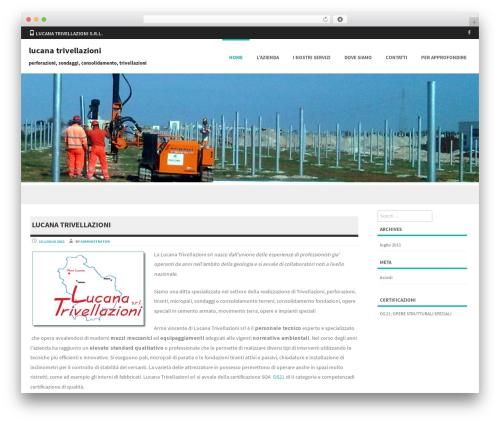 Formation WordPress theme - lucanatrivellazioni.com