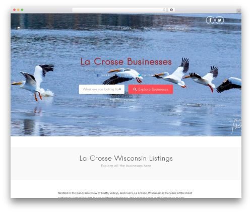 Listable WordPress template for business - lacrosse-wisconsin.com