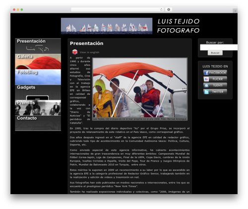 Theme WordPress Picture Perfect - luistejido.com