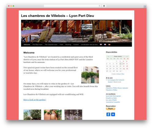 Twenty Ten WordPress template free - leschambresdevillebois.com