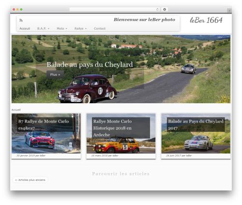WordPress template Customizr Pro - leber1664.com