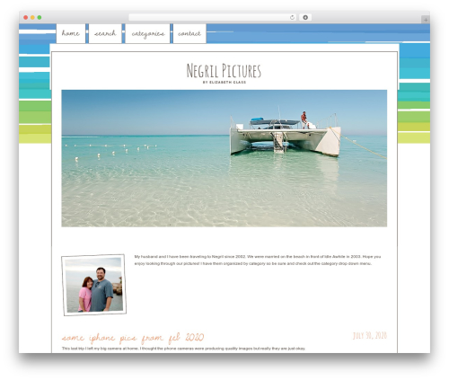 WordPress theme ProPhoto - lizardbeth.com
