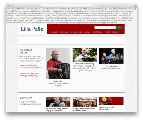 WP theme Yasmin - lillepalle.dk