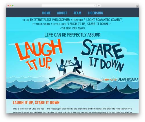 X theme WordPress - laughitupplay.com