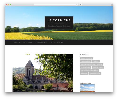 WordPress google-maps-ready plugin - lacornicheacherence.com