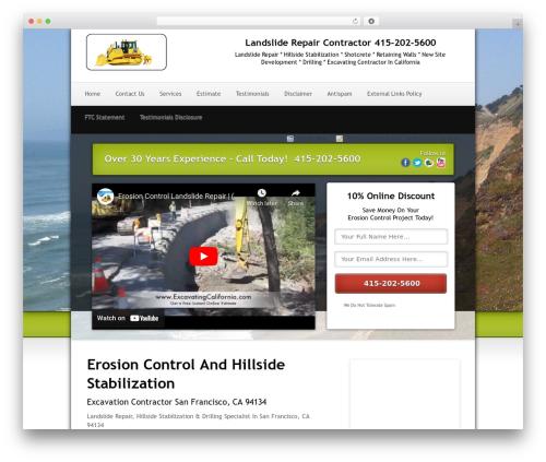 Local Lead Arsenal top WordPress theme - landslidesanfrancisco.com