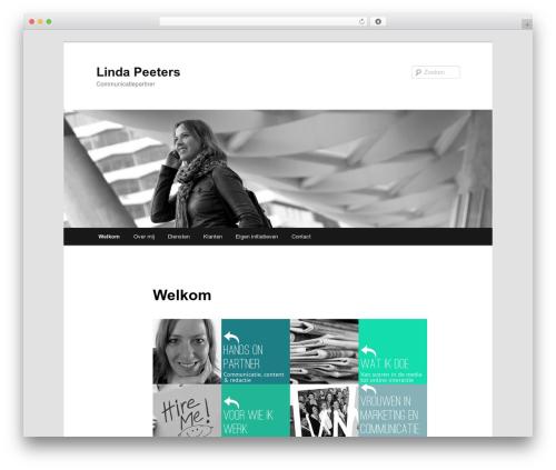 Free WordPress Twenty Eleven Theme Extensions plugin - lindapeeters.com