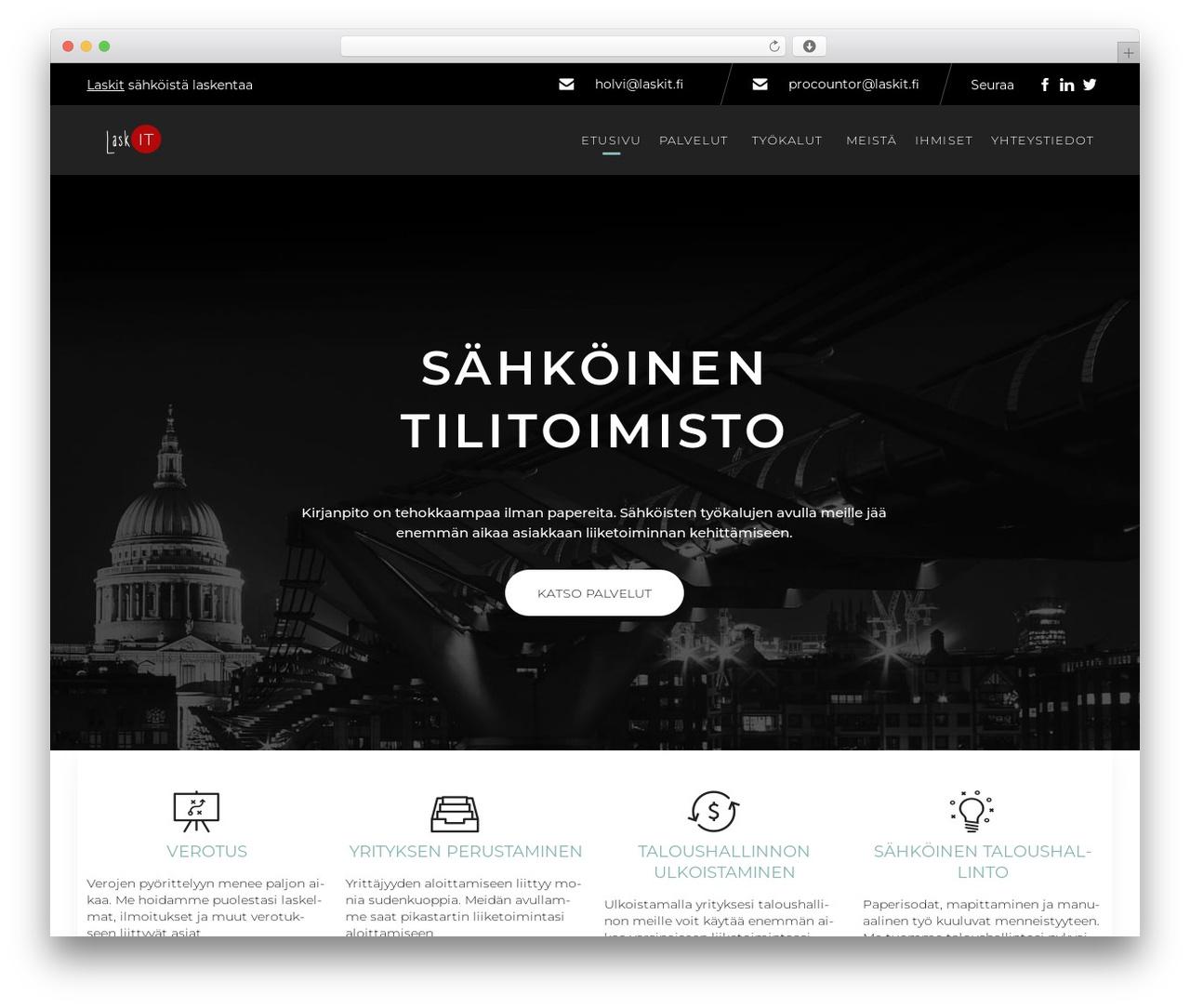 WP template (VamTam) Consulting - laskit.fi