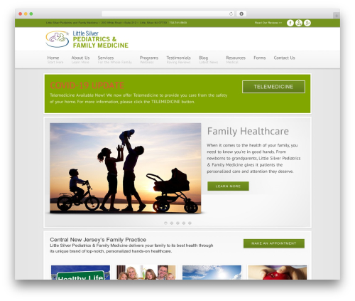Best WordPress theme Modular - littlesilvermedicine.com