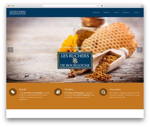 Flat Theme theme WordPress - lesruchersdebourgogne.fr