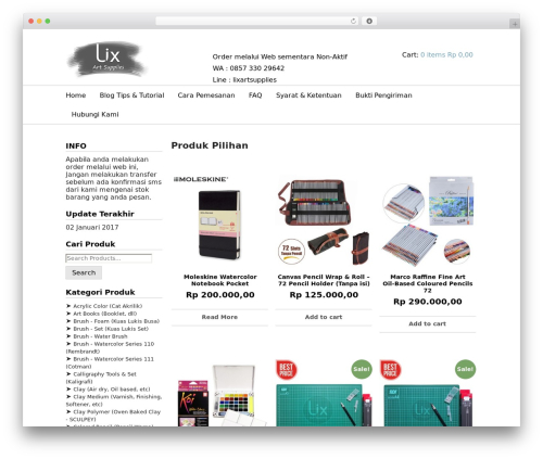 JShop best WooCommerce theme - lixartsupplies.com