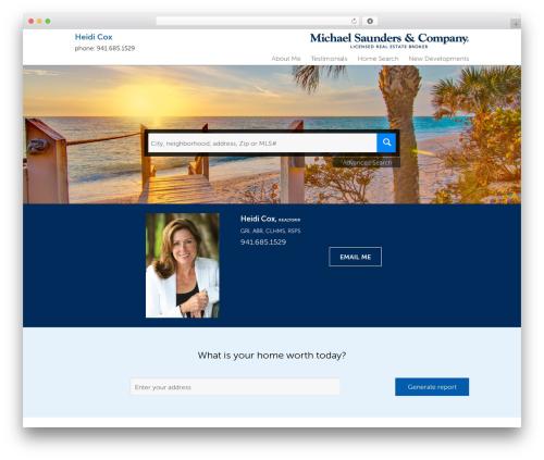 Residential - Theme 1 WordPress website template - lakewoodranch-homes.com