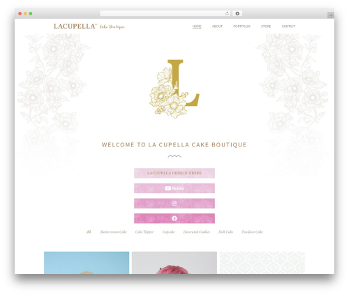Theme WordPress Beau - lacupella.com