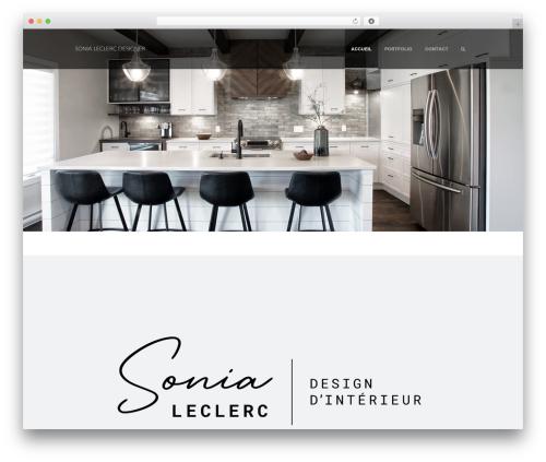WordPress theme Supernova - Multi-Purpose Theme - leclercdesigner.com