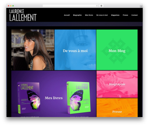 WP template Novo - laurencelallement.com
