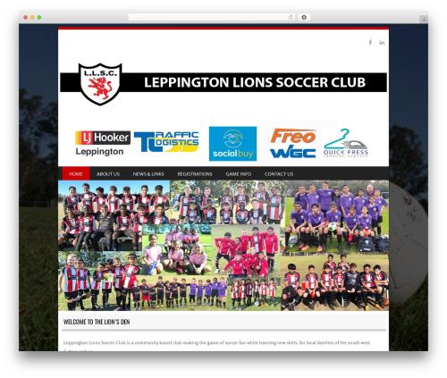 WP template SportyPro - llsc.com.au