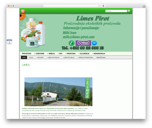 Free WordPress WP-SWFObject plugin - limes-pirot.com
