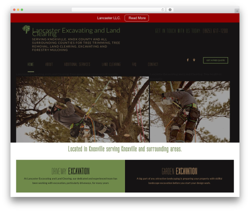 Arborist 2 - V8 WordPress theme - lancastertree.com