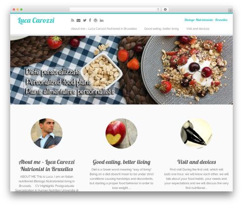 Customizr template WordPress - lucacarozzi.com