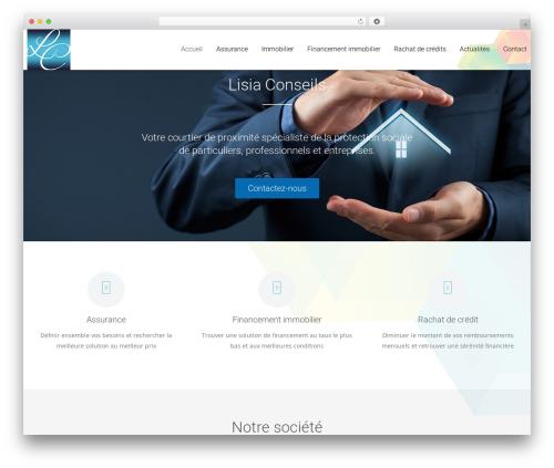 Dzen WordPress theme design - lisia-conseils.com