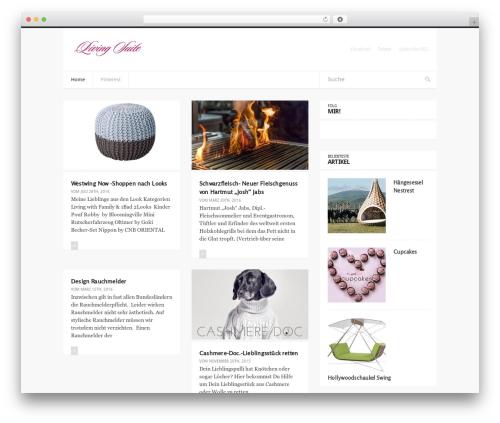 Easy free WordPress theme - living-suite.de