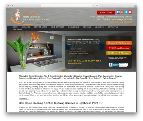 WordPress dnd-shortcodes plugin - llhomecleaningservices.com