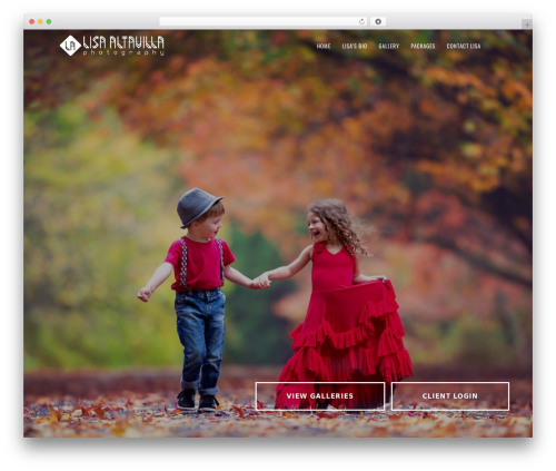 Genesis photography WordPress theme - lisaaltavillaphotography.com.au