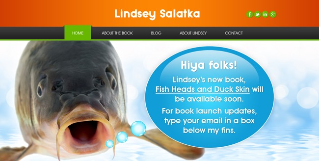 Lindsey Salatka theme WordPress
