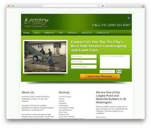 Local Business Pro Responsive Theme business WordPress theme - legacy-lawn.com