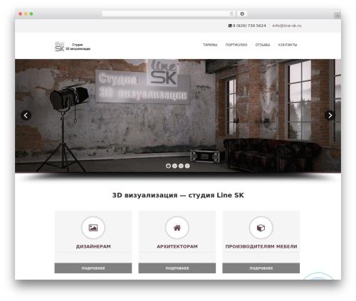 Soulmedic theme WordPress - line-sk.ru