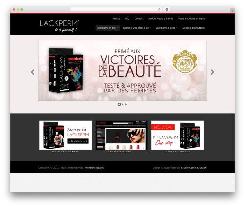 Swatch best WordPress template - lackperm.com