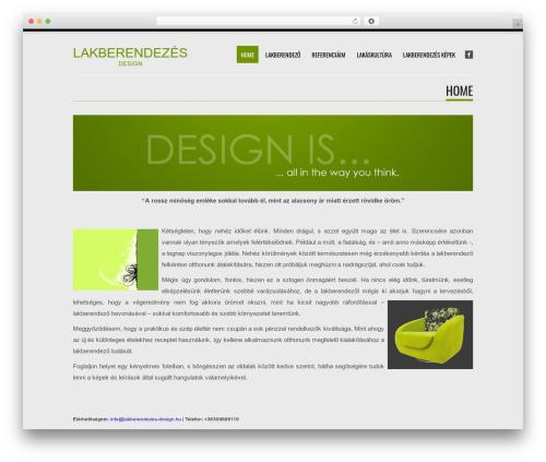 Tesla free WordPress theme - lakberendezes-design.hu