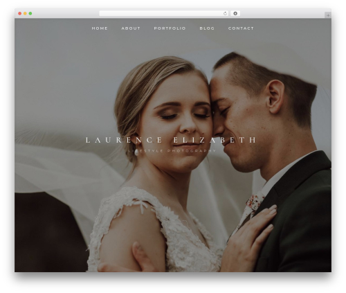 WordPress theme Divi - laurenceelizabeth.com