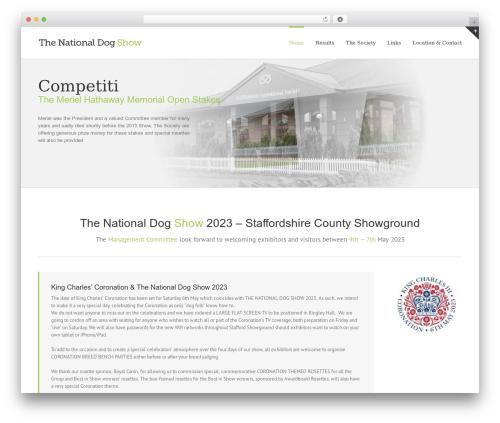 Avada WordPress theme - thenationaldogshow.org.uk