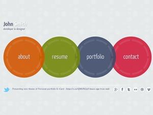 Circlus WP Theme personal blog WordPress theme