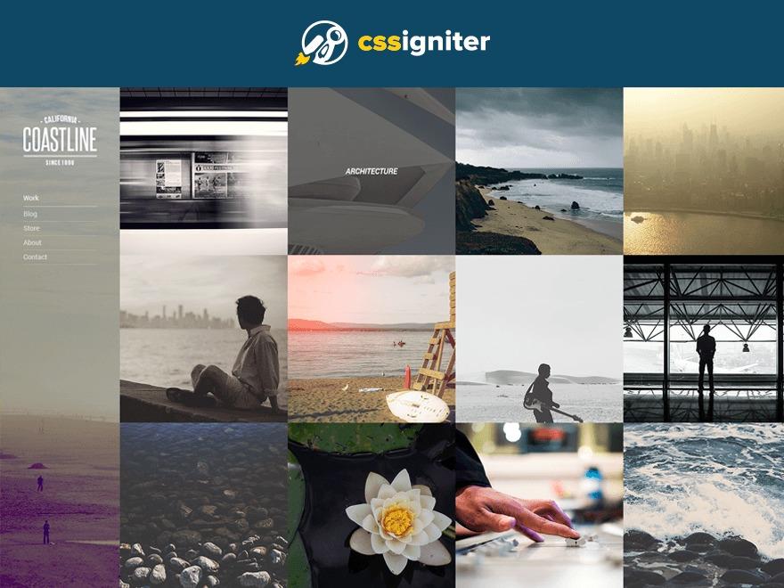 Coastline best WordPress template