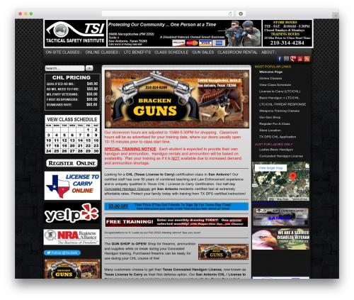 Easel WP theme - tac-safe.com