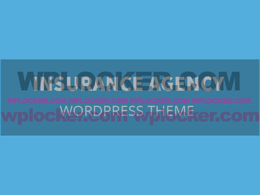 Insurance Agency business WordPress theme