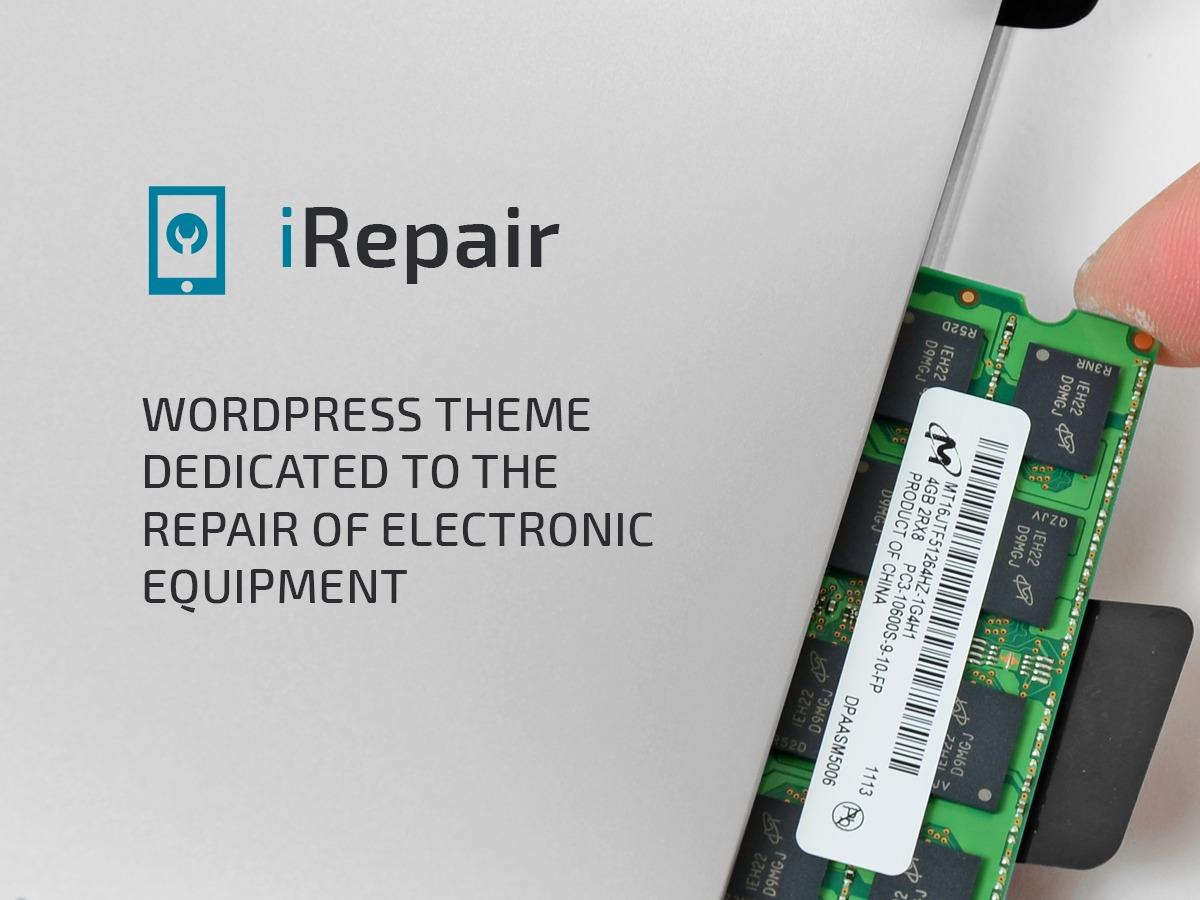 iRepair business WordPress theme