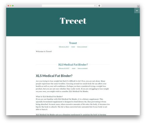 Lyretail free website theme - treeet.com.au