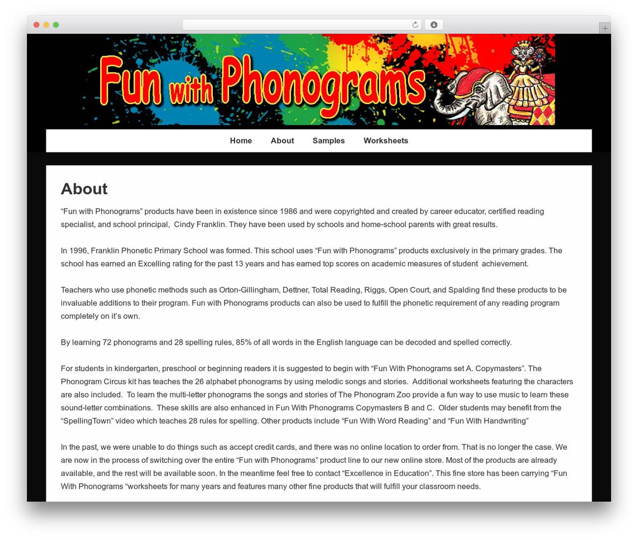 Responsive WordPress template free download - funwithphonograms.com