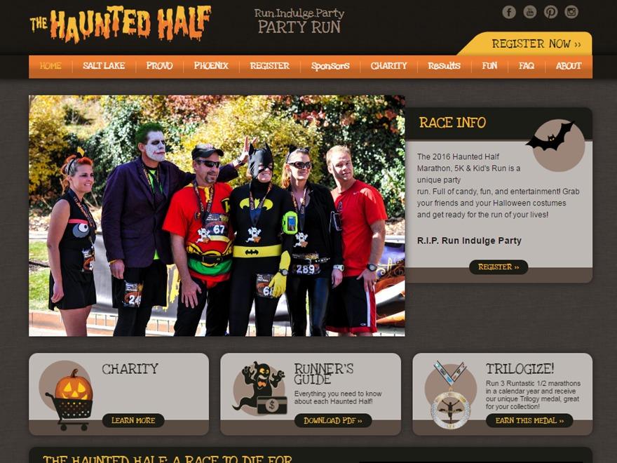 Runtastic Race Sites Theme WordPress ecommerce template